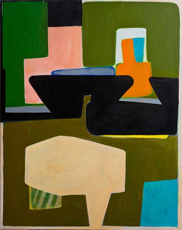 """#2602 30"""" x 24"""" Oil/Panel, 2010"""