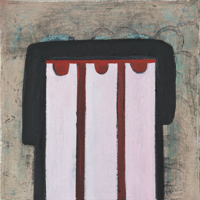 """#2662 8"""" x 10"""" Oil/Panel, 2011"""