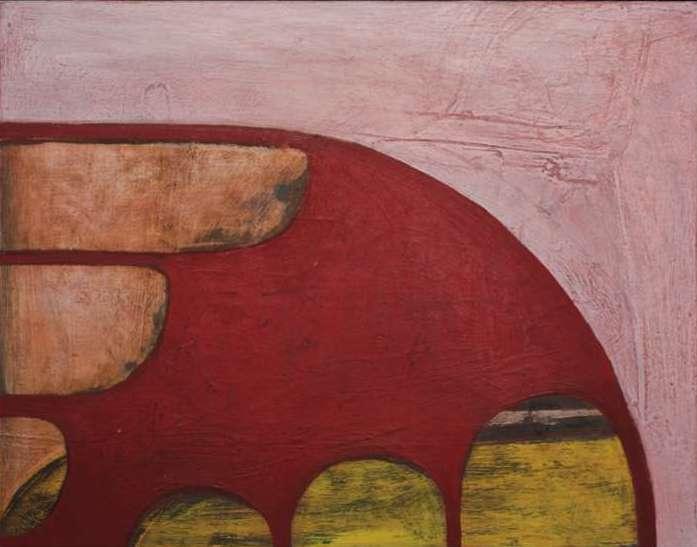 """#2657 11"""" x 14"""" Oil/Panel, 2011"""