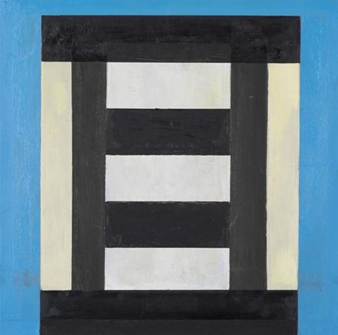 """#2791 18"""" x 18"""" Oil/Panel, 2016"""