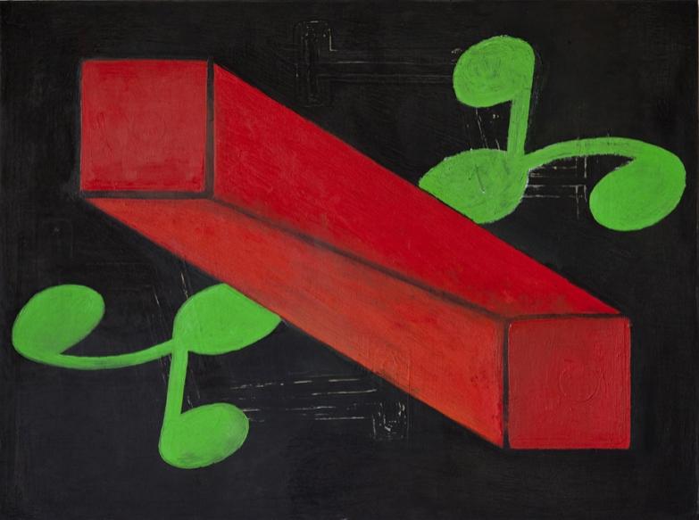 """#2741 18"""" x 24"""" Oil/Panel, 2013"""