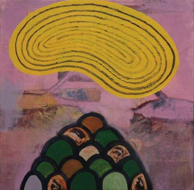 """#2658  10"""" x 10"""" Oil/Panel, 2011"""