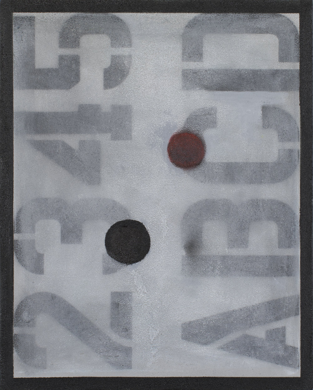 """#2819 16"""" x 20"""" Oil/Panel, 2017"""