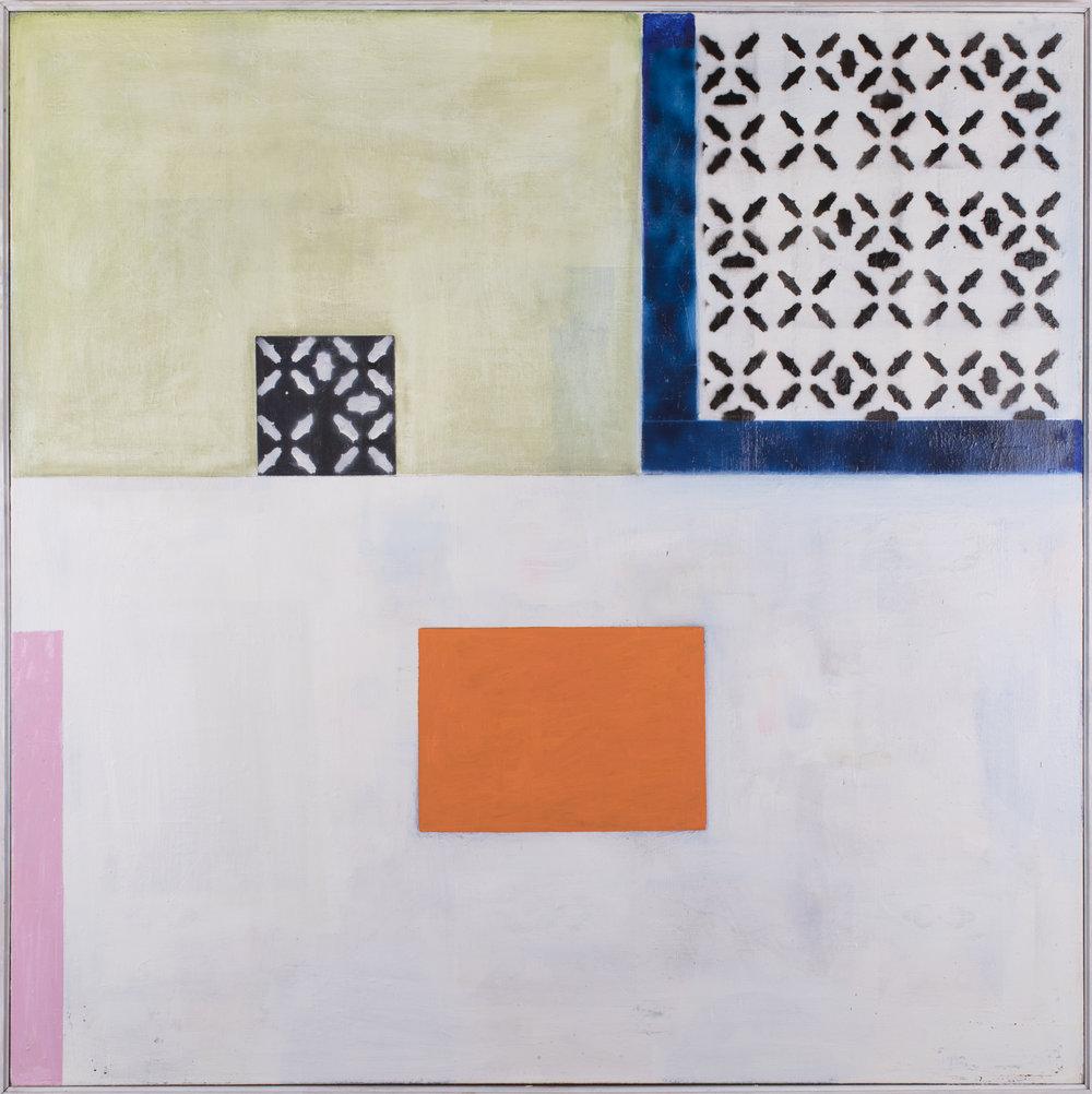 "#2808 66"" x 66"" Oil/Canvas, 2017"