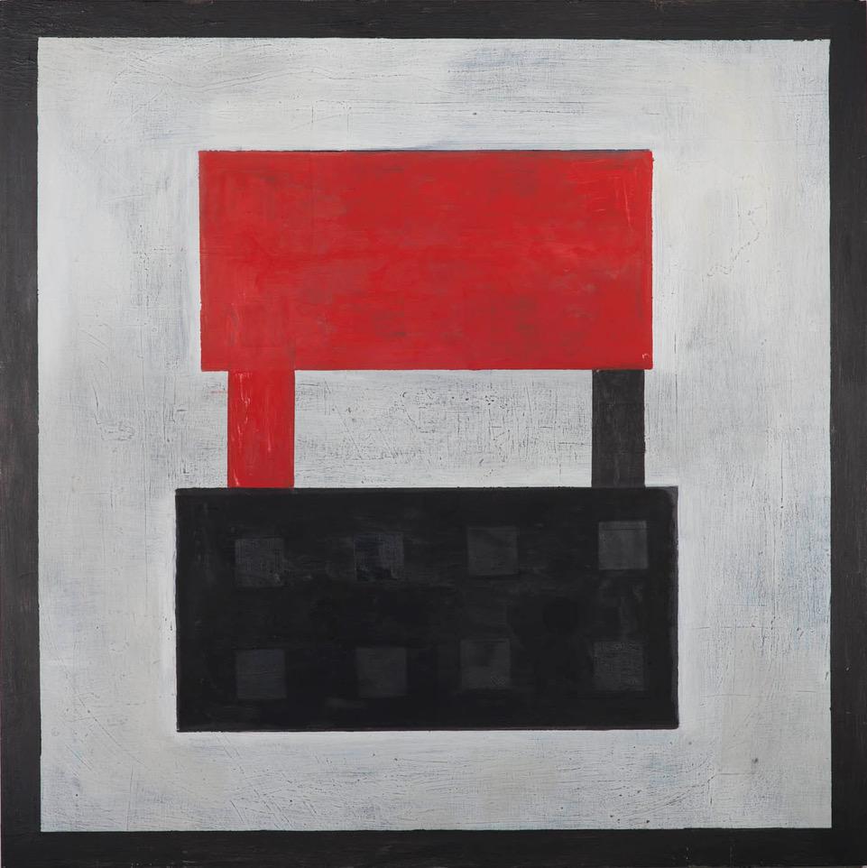 """#2770 48"""" x 48"""" Oil/Panel, 2015"""