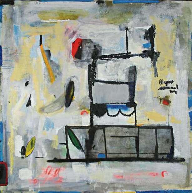 "#2728 66"" x 66"" Oil/Canvas, 2013"