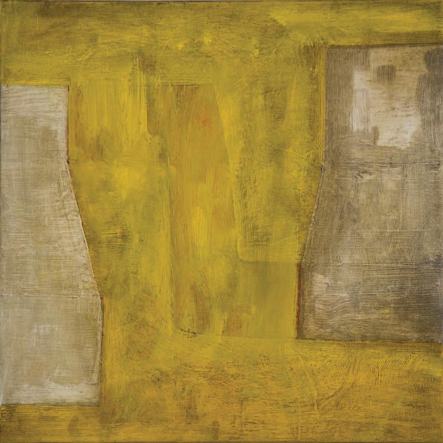 """#2714 10"""" x 10"""" Oil/Copper, 2012"""