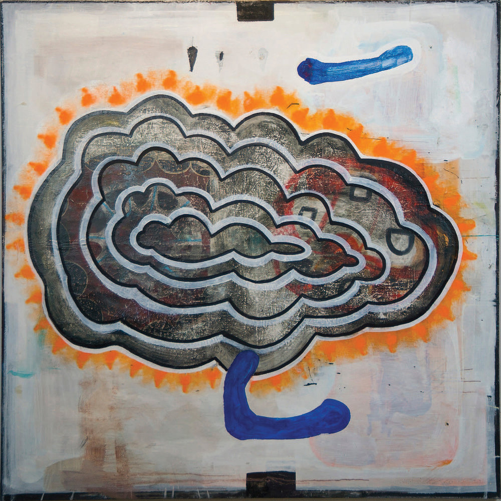 "#2700 66"" x 66"" Oil/Canvas, 2012"