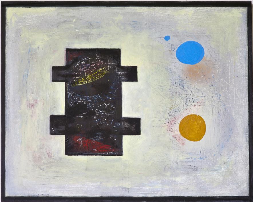 """#2753 16"""" x 20"""" Oil/Panel, 2014"""