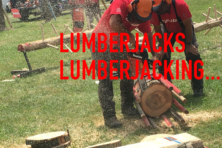 Journey To The Lumberjack Festival - A weekend adventure in upstate New York.