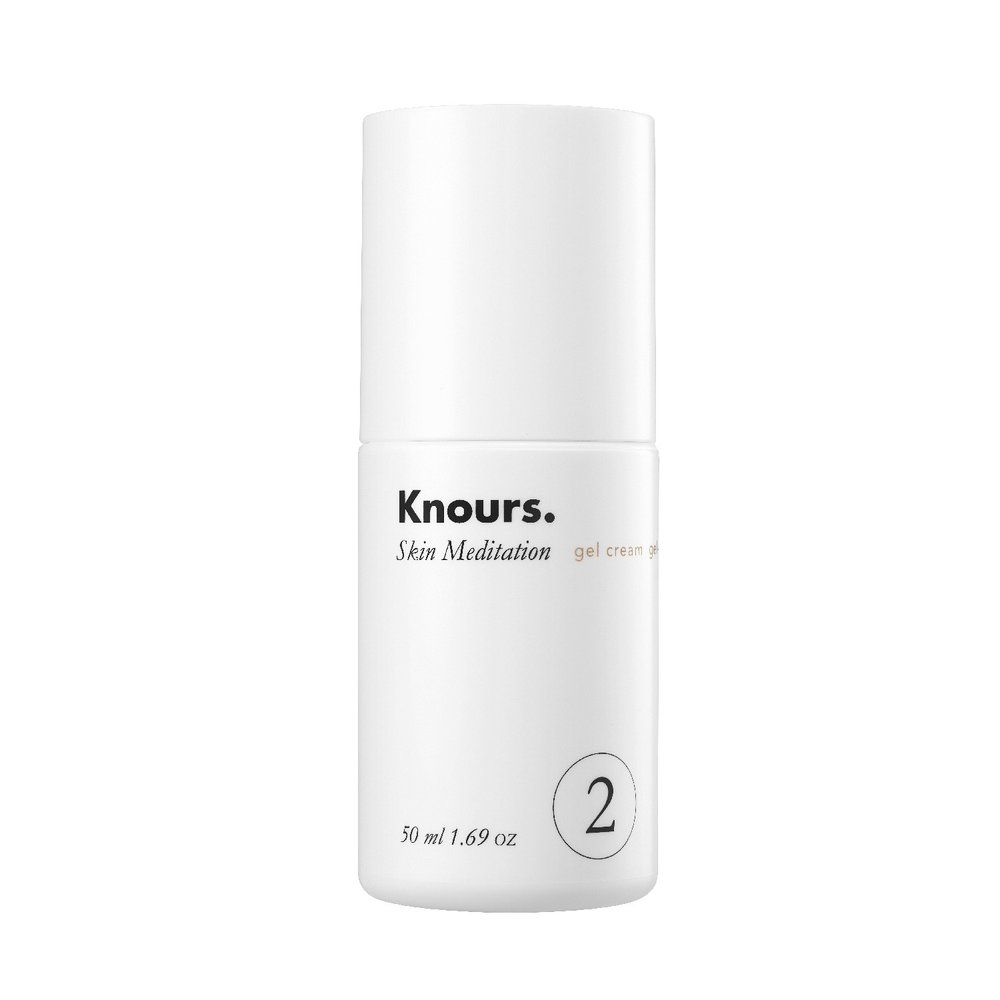 Knours. Skin Meditation Gel Cream - Skin Meditation is a gel cream that Knours. suggested for me because of my oil/acne prone skin. I've been using this cream soooo much that I'm now trying to conserve it so I won't run out so fast. On application it is cooling and soothing which is great if you're breaking out or have dryness/irritation. It's good for during the day because it's lightweight so it won't make your face all shiny. I use one pump and that's enough to cover my face and neck. Gel creams are my favorite because of the texture. I prefer lighter creams to heavier ones, however, if I needed extra moisture I would probably go with a heavier one for night time.