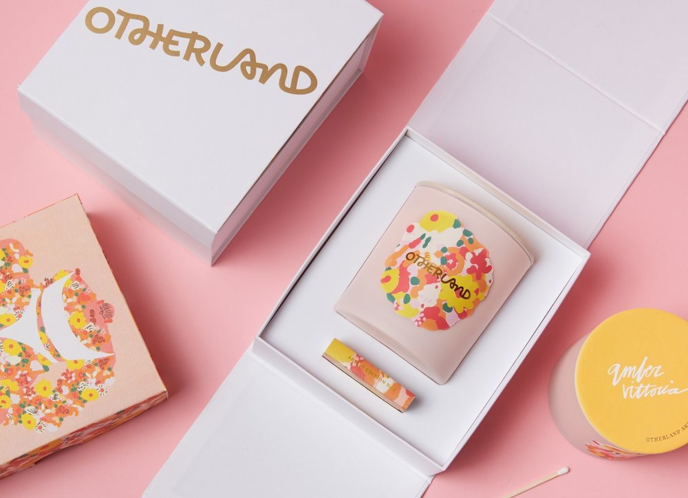 3. Otherland Artist Edition Candle: Amber Vittoria