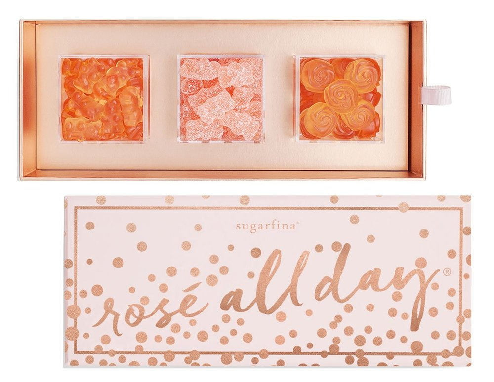 7. Sugarfina Rosé All Day 3-Piece Candy Bento Box