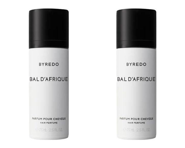 5. Byredo Bal D'Afrique Hair Perfume