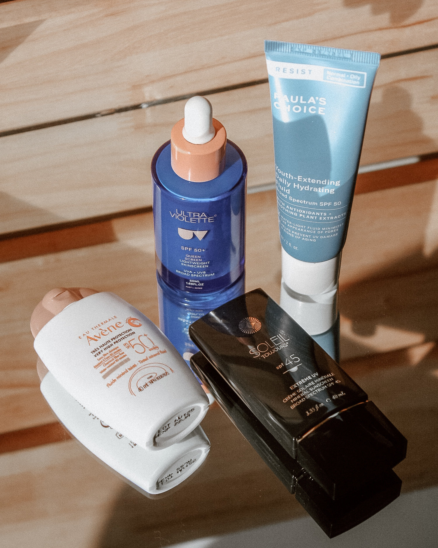 Face Sunscreen Roundup: Chemical Sunscreens and Mineral Sunscreens — THE GLOSSARRAY | Your Beauty + Skincare Glossary