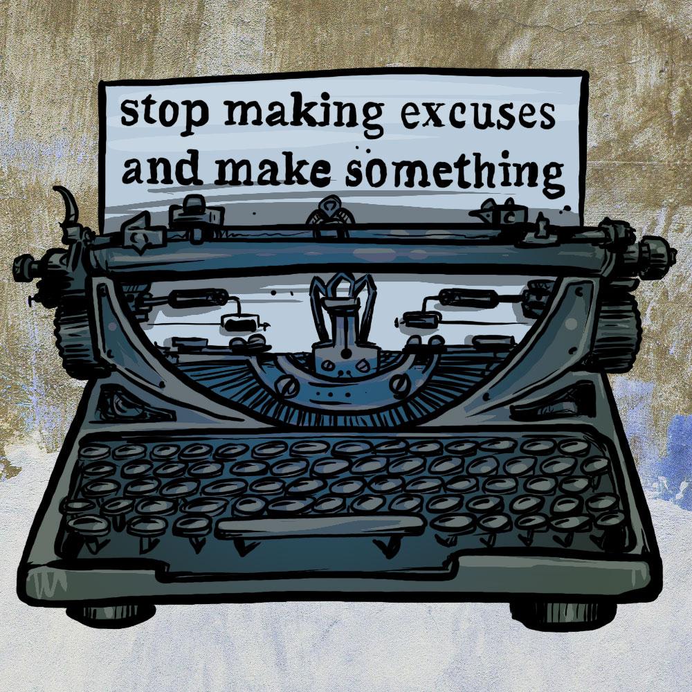 make something typewriter