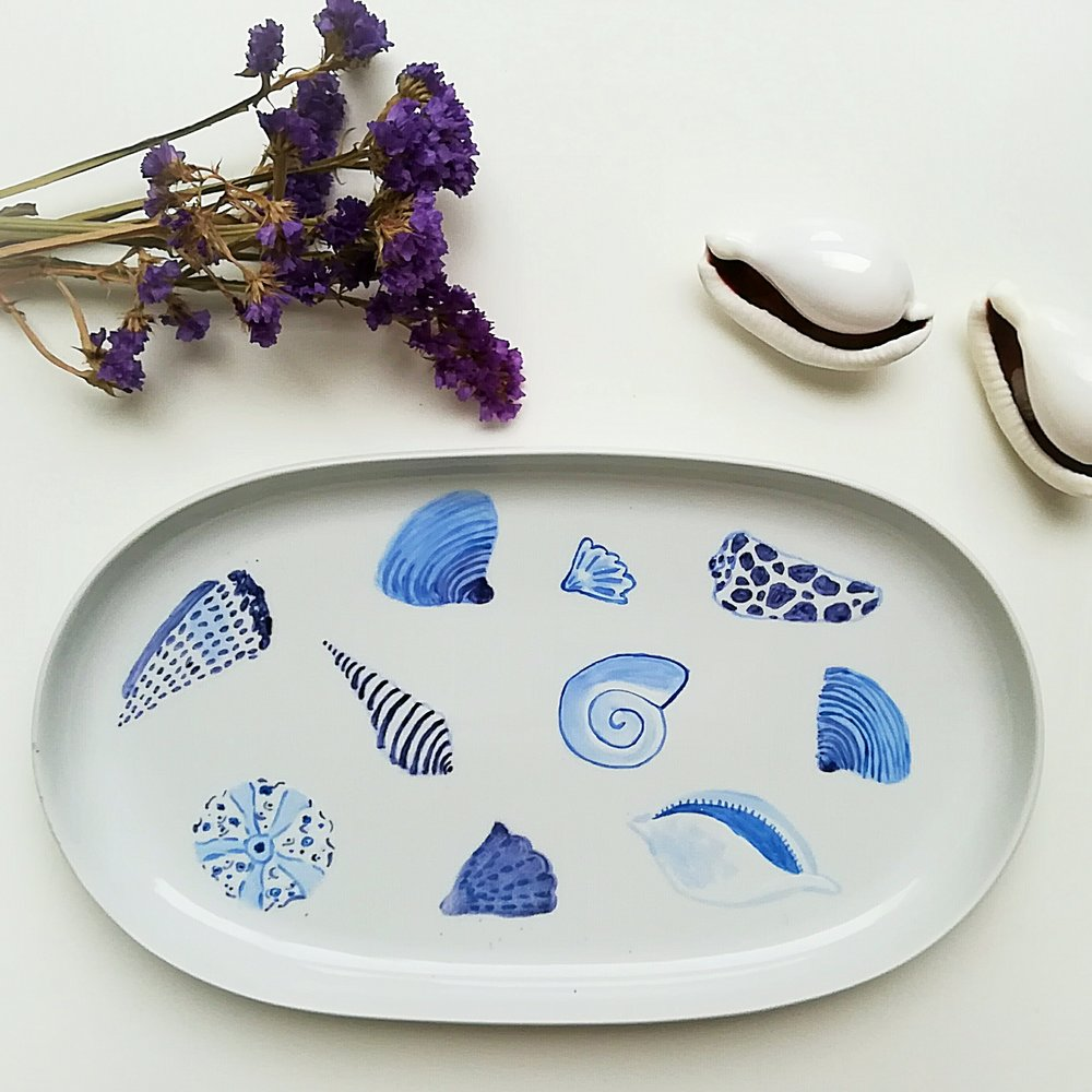 Oval Platter 33 x 21 cms