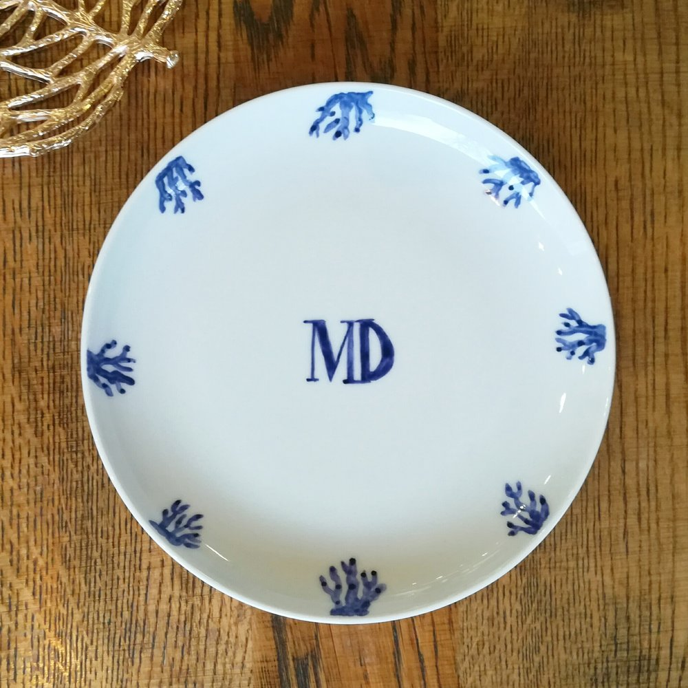 Side plate 21 cms