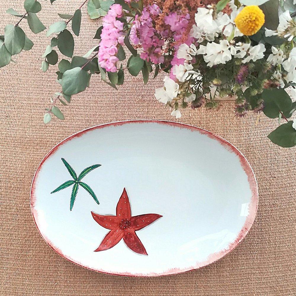 Oval Platter 35 x 21 cms