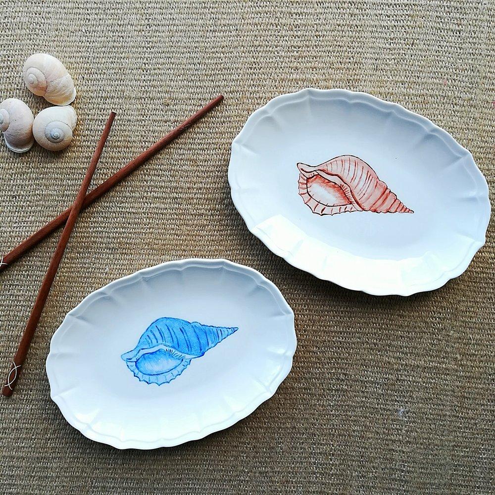 Decorative / Appetizer plates 20 cm