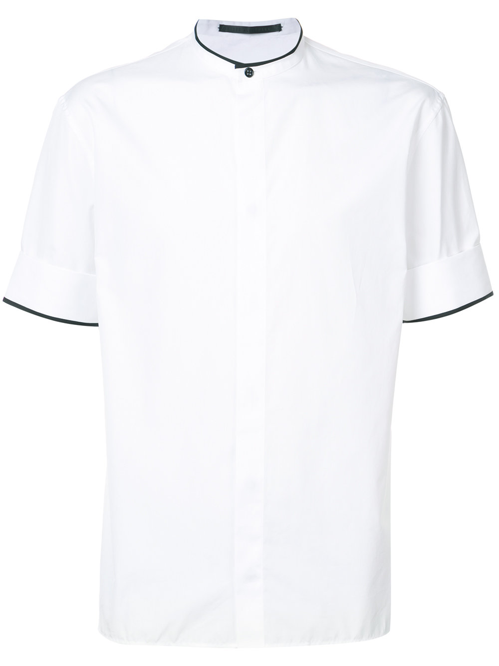 Haider Ackermann   White Mandarin Collar Shirt