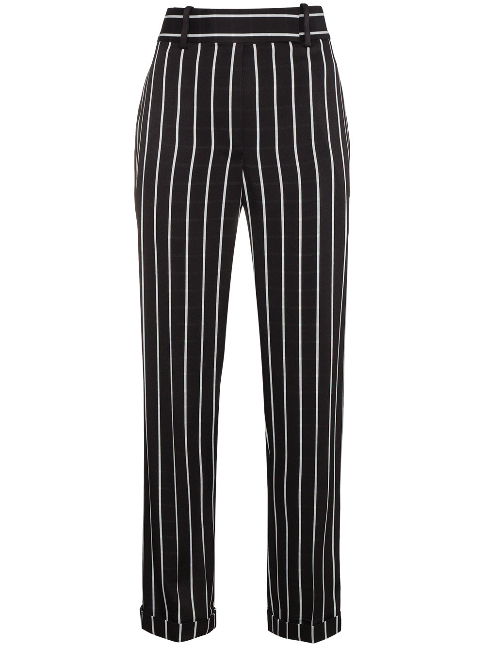 Haider Ackermann   Black and White Striped Trouser