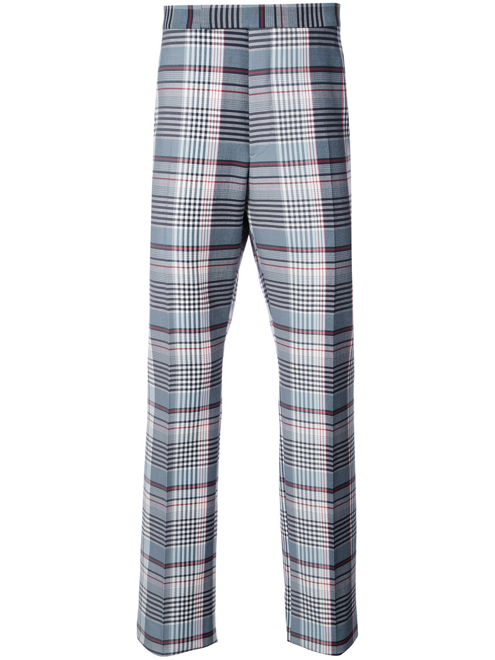 Thom Browne   Plaid Tailored Trouser
