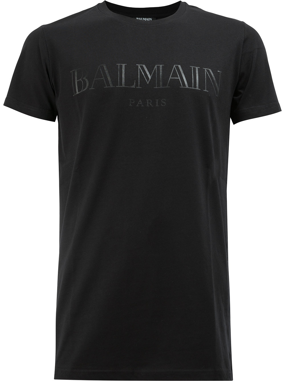 Balmain   All Black Logo Tee