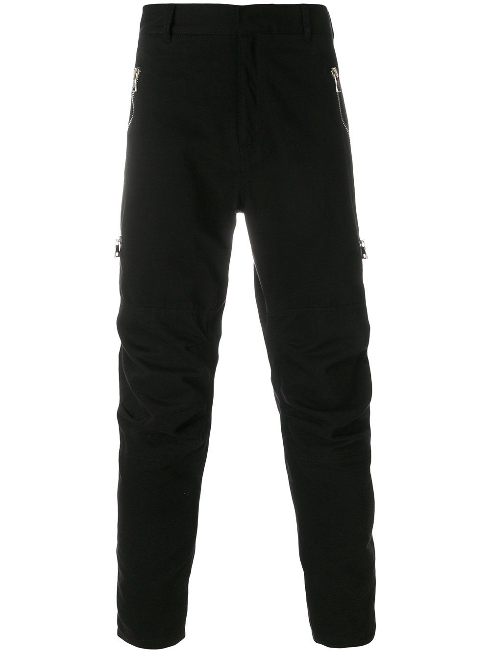 Balmain   Zipper Detail Casual Pant