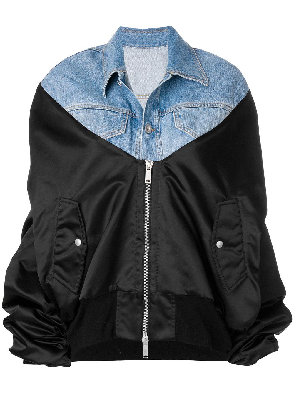 Unravel Project   Hybrid Denim Jacket