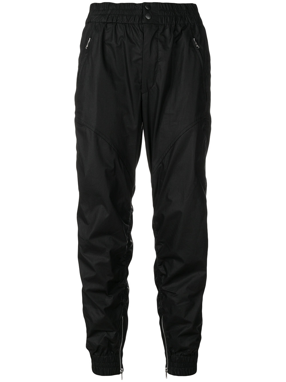 Isabel Marant   Black Snap Closure Trouser