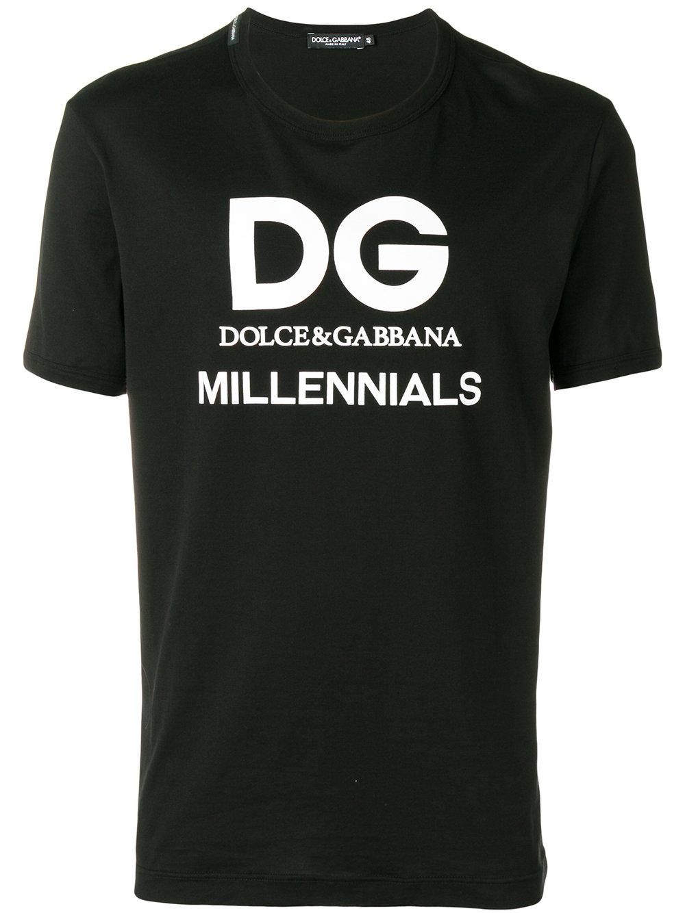 Dolce & Gabbana   Short Sleeve Millennials Tee