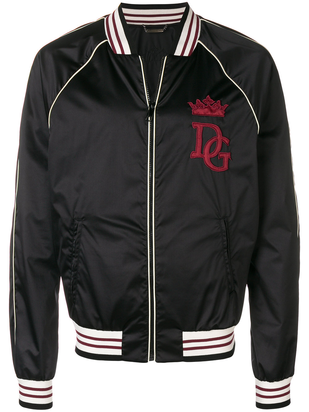 Dolce & Gabbana   Detailed Bomber Jacket