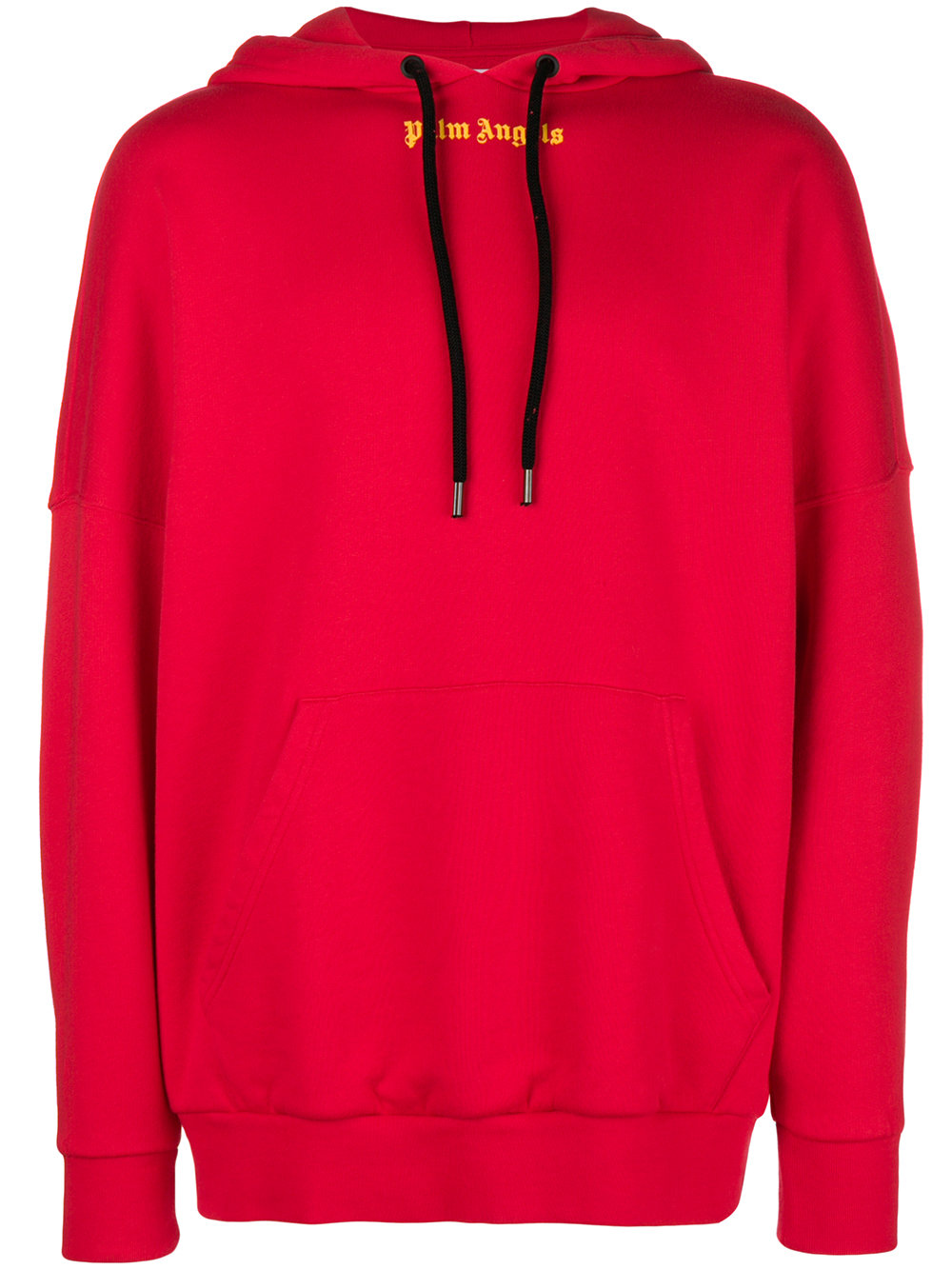 Palm Angels   Red Drawstring Hoodie