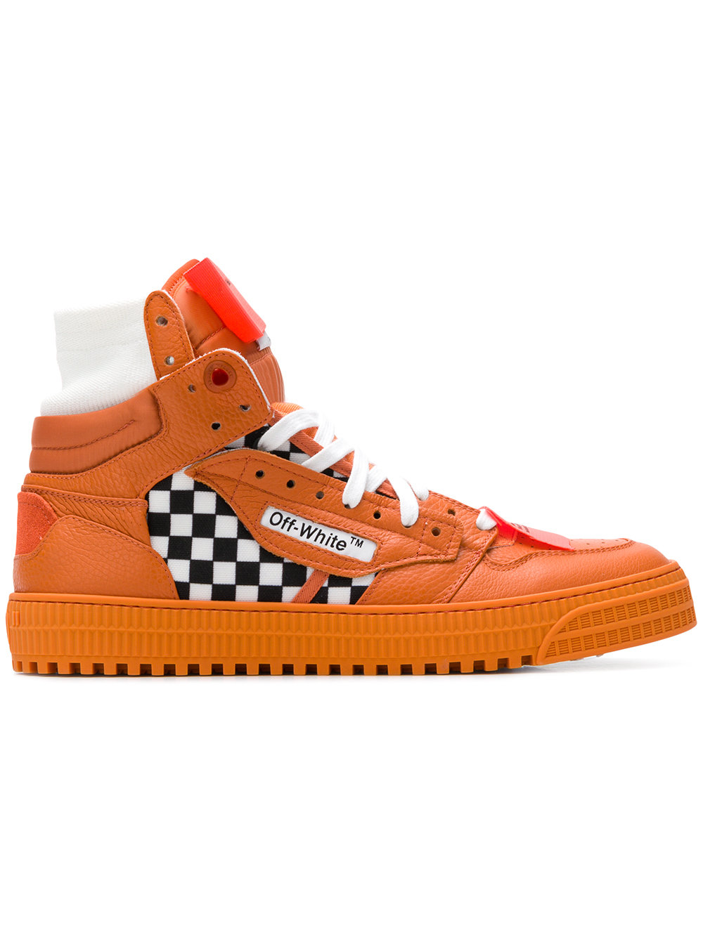 Off-White   Orange Low 3.0 Sneaker