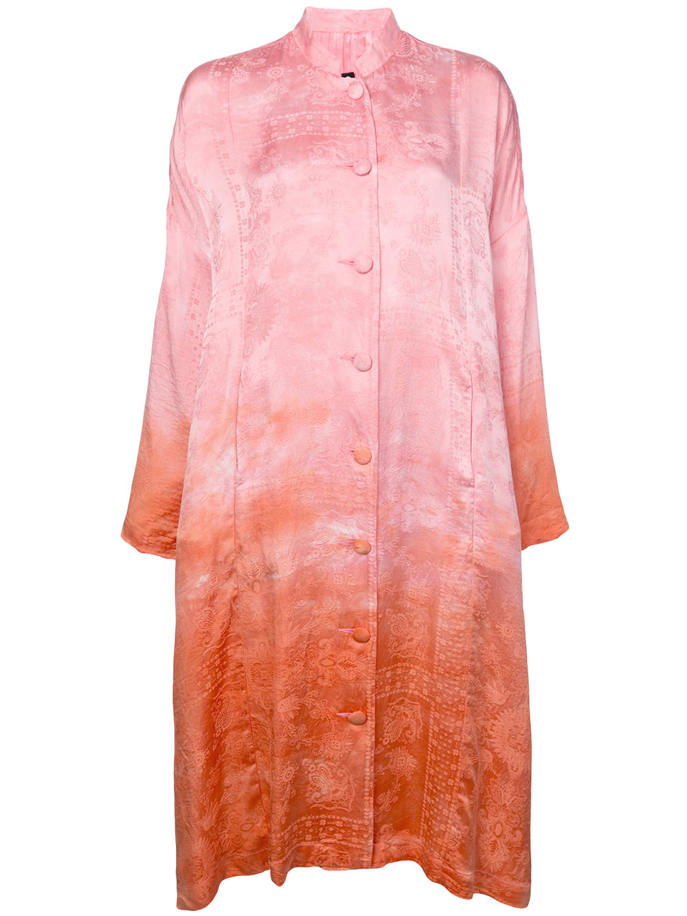 Raquel Allegra   Two Tone Kimono Dress