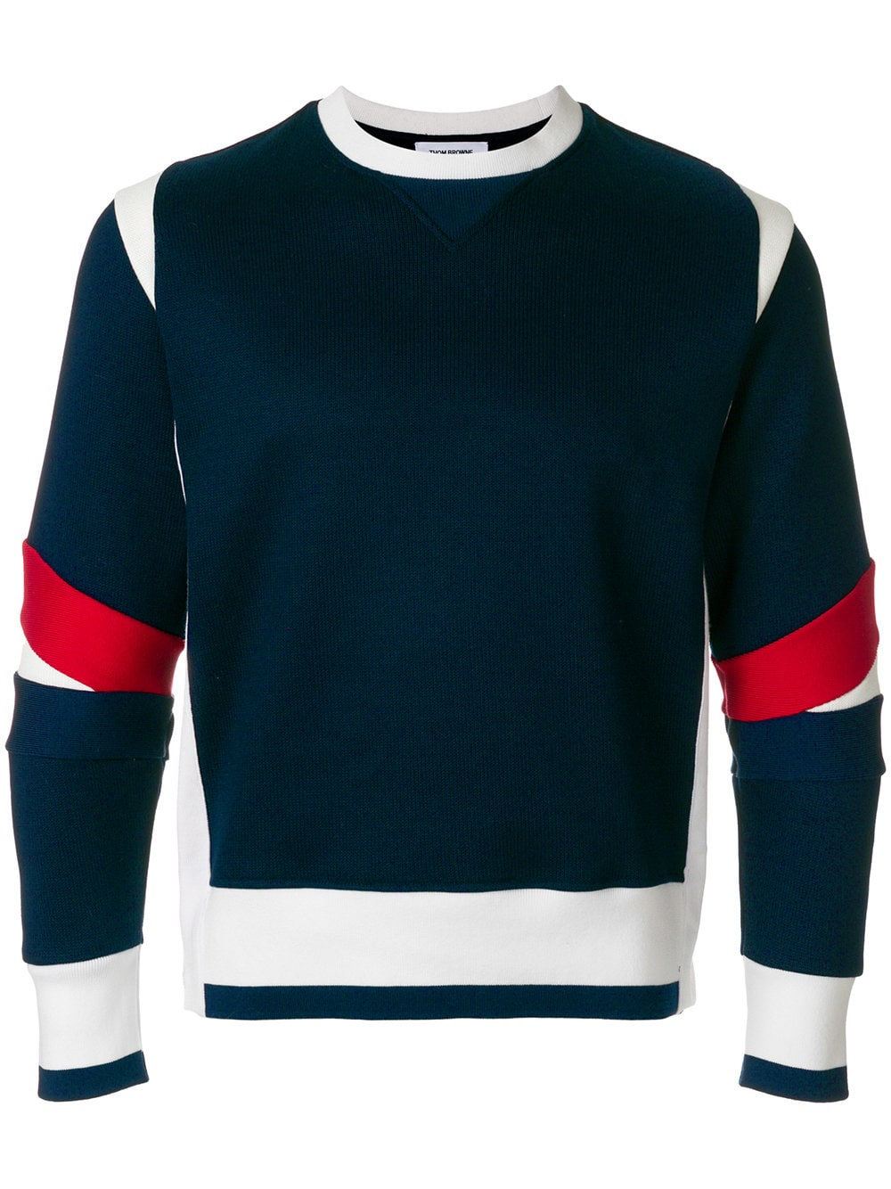 Thom Browne   Navy Crew Neck