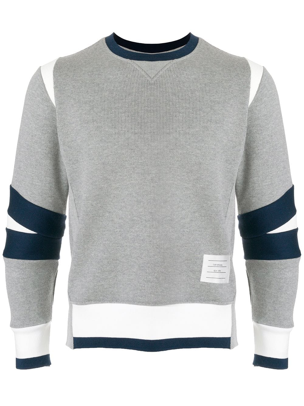 Thom Browne   Grey Crew Neck