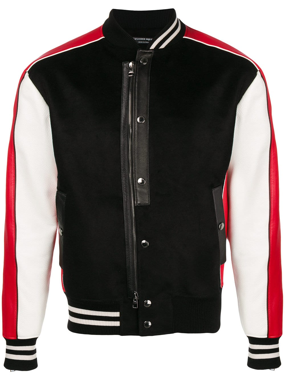 Alexander McQueen   Multi Color Bomber Jacket