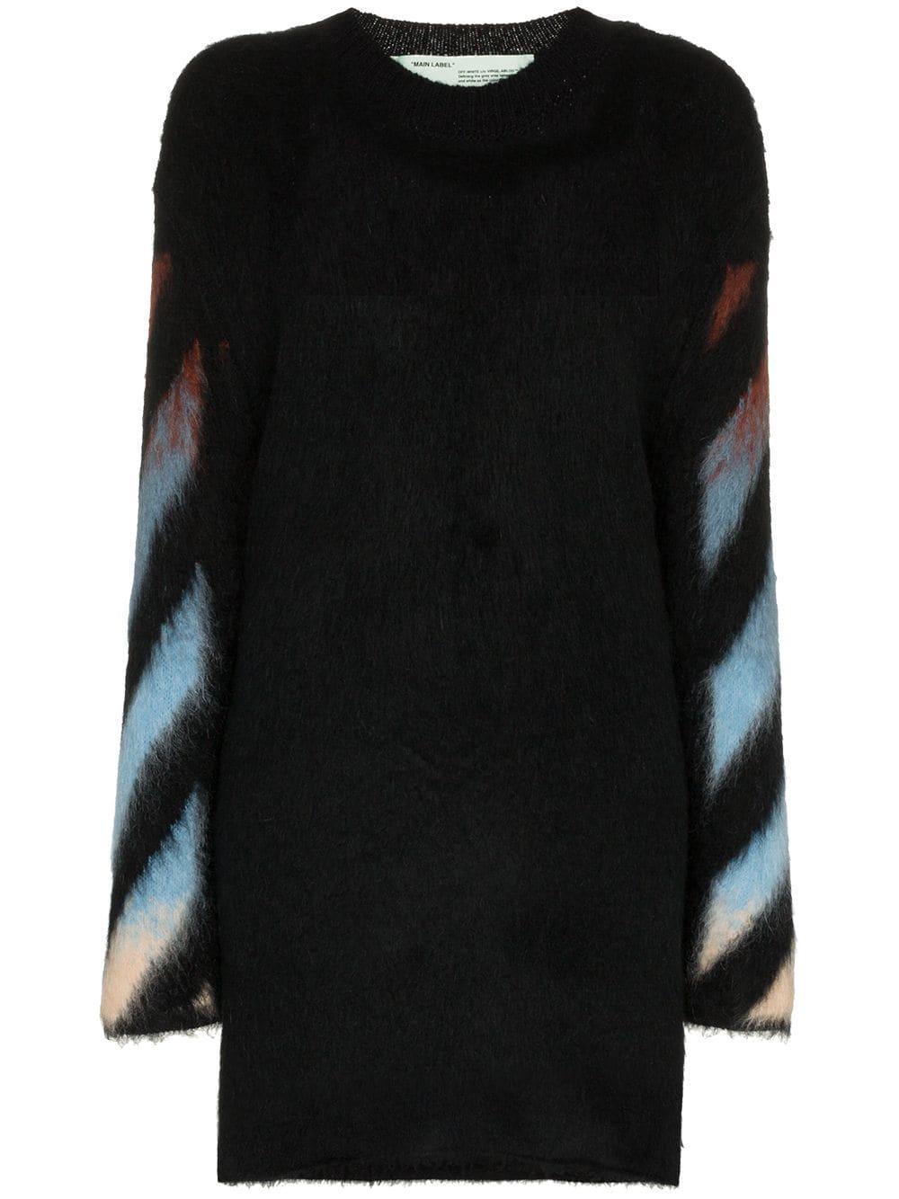 Off-White   Oversize Multi Color Sweater