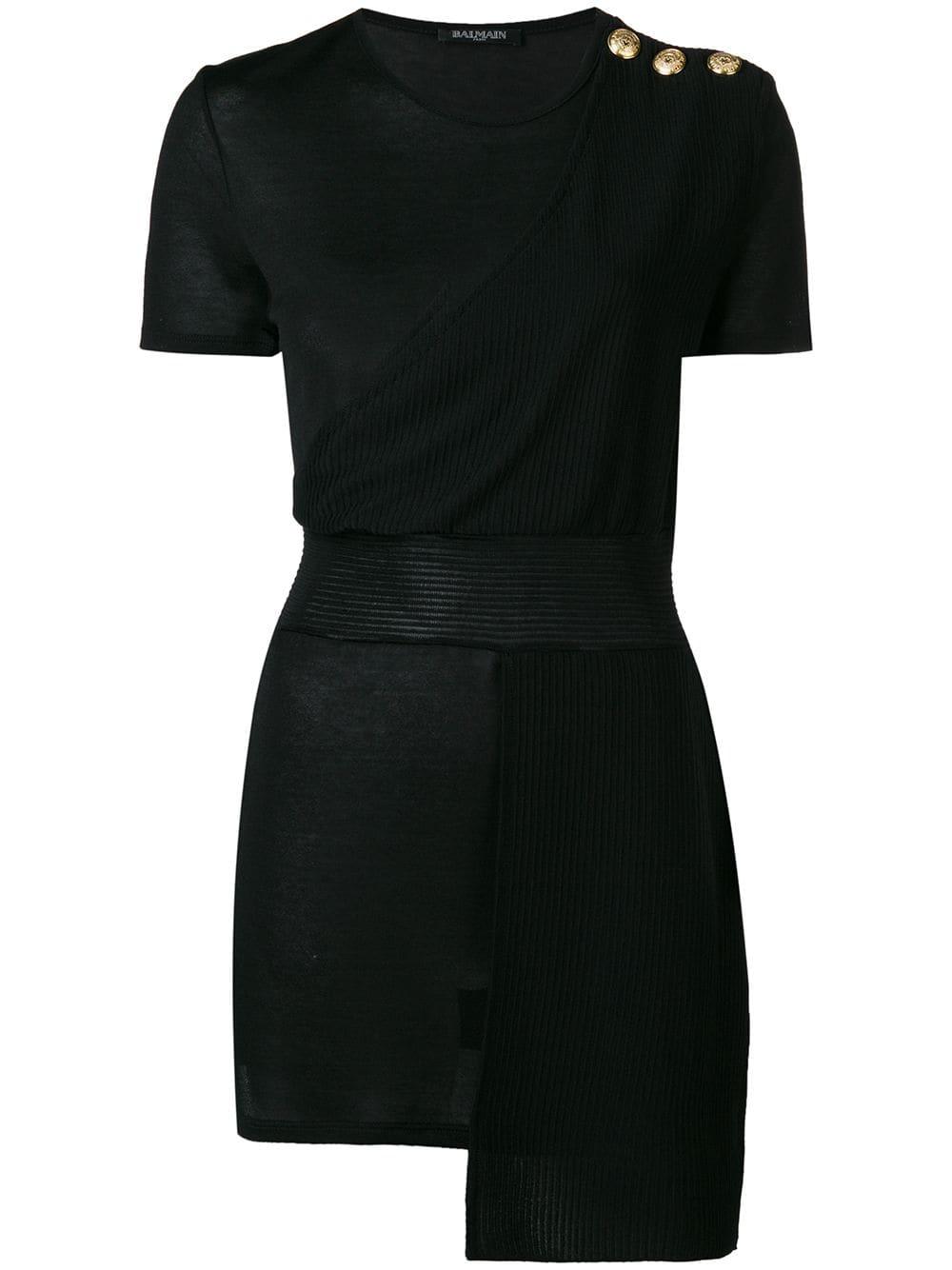 Balmain   Embellished Layer Top
