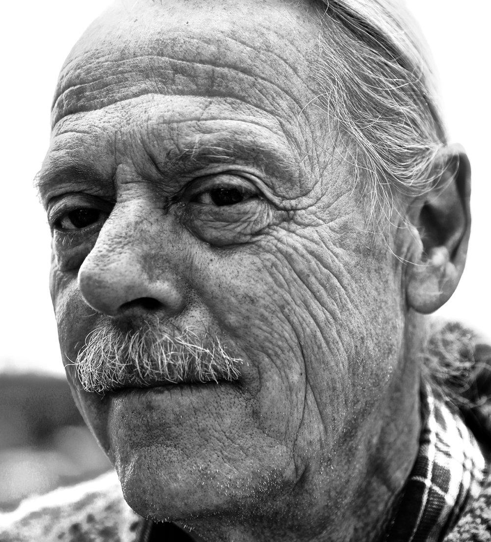 Des Nobels on his boat – Dodge Cove, BC