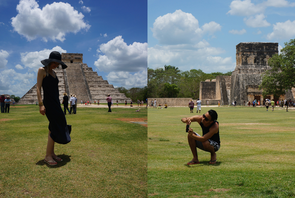 photos at chichen itza