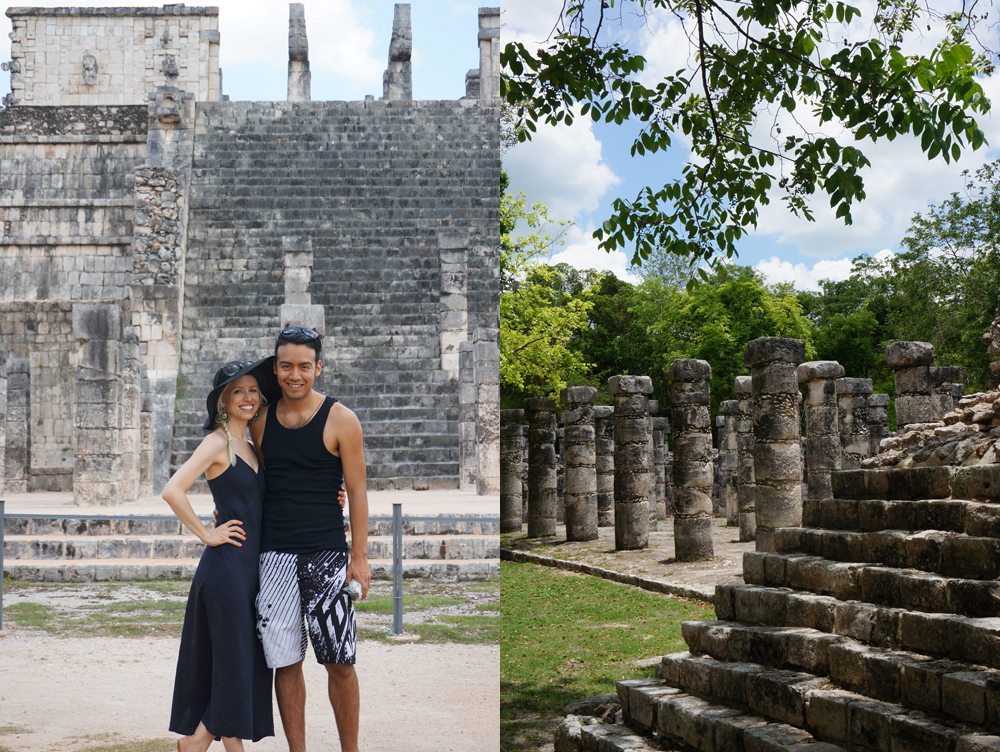 touring chichen itza
