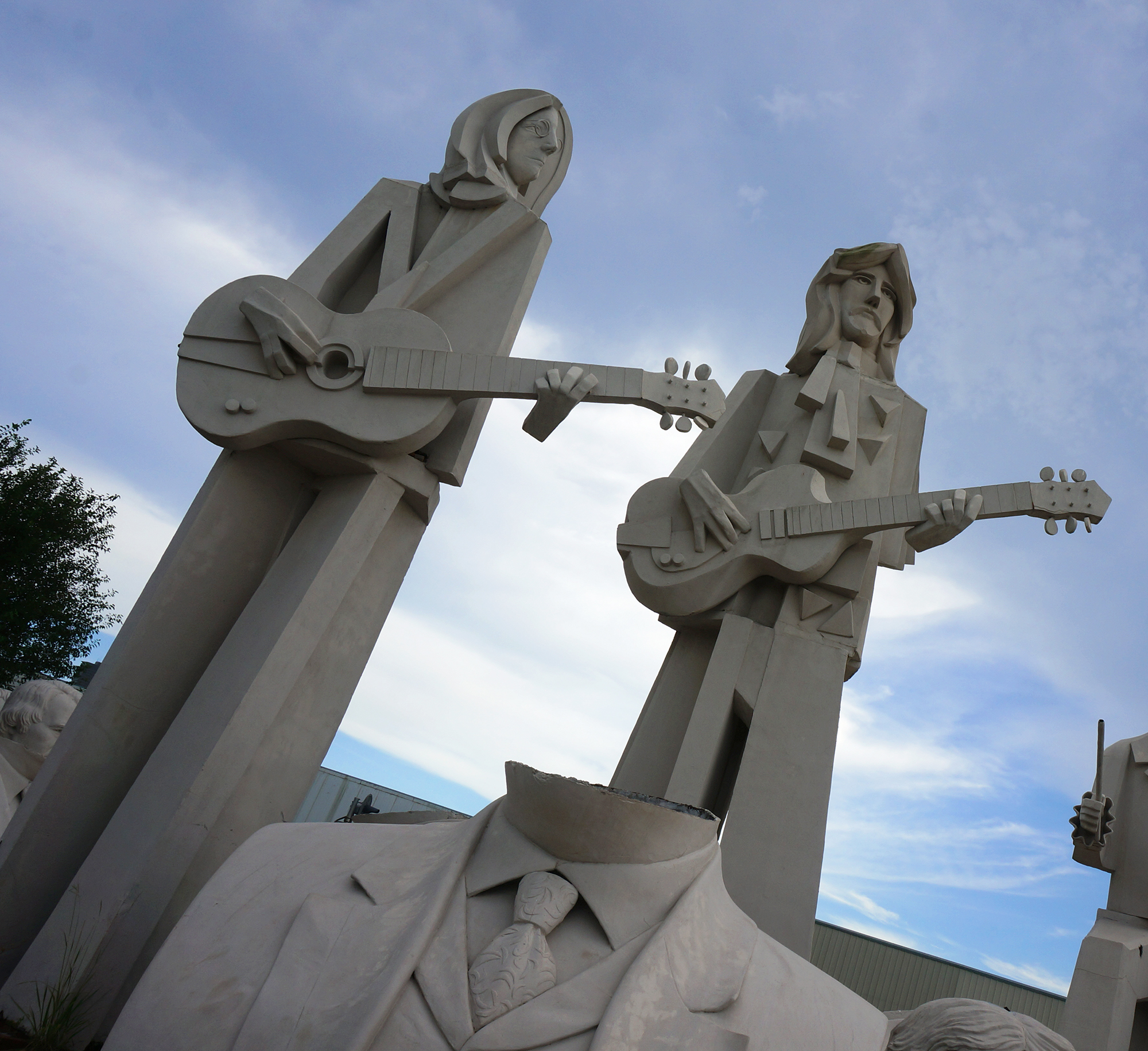 Beatles Statues Houston