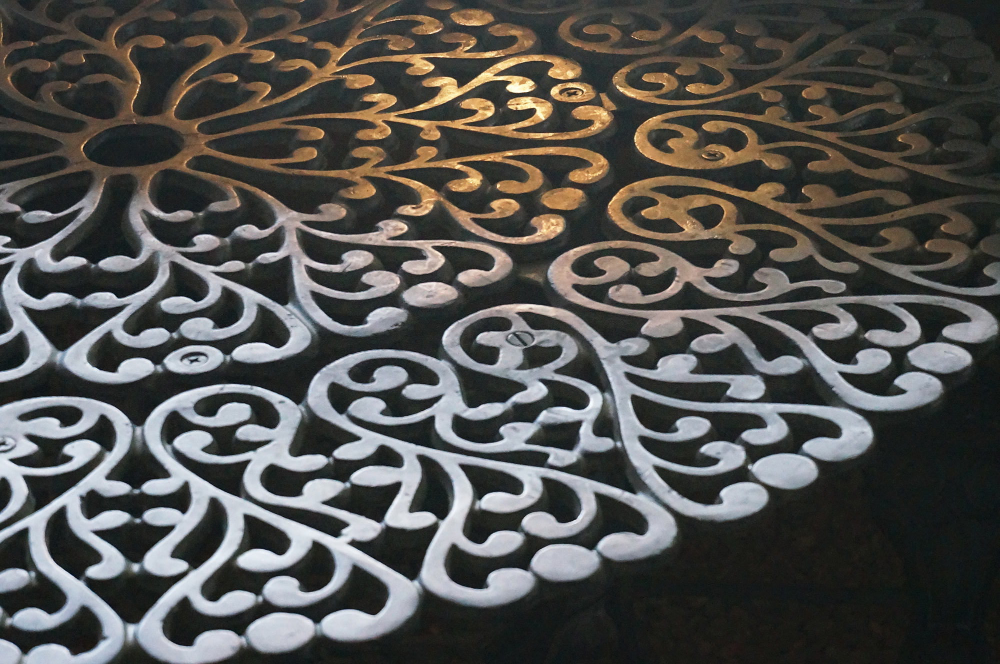 Wrought iron tabletop