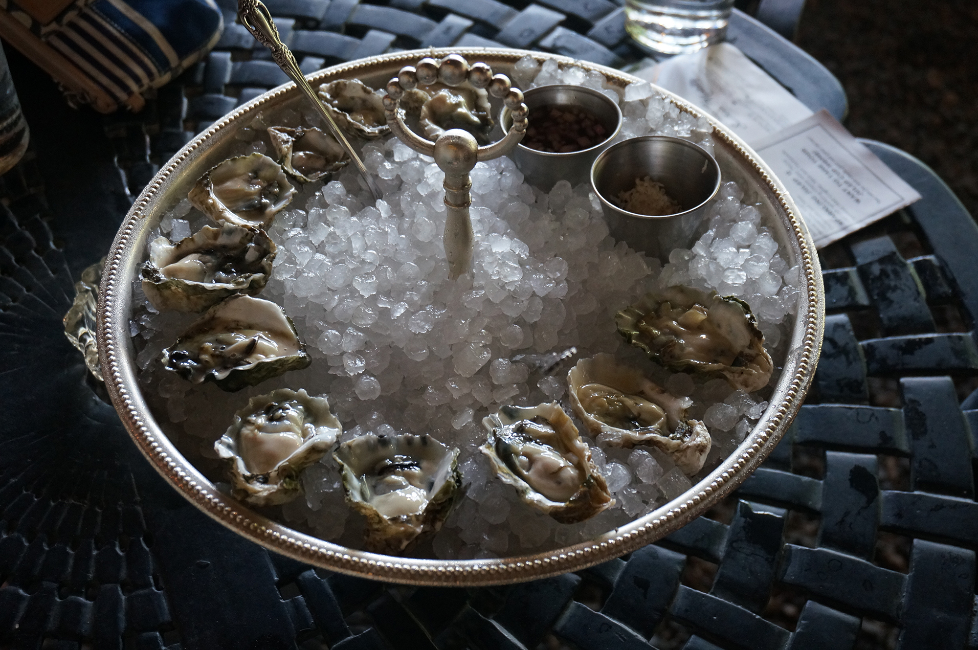 Oysters at Julep