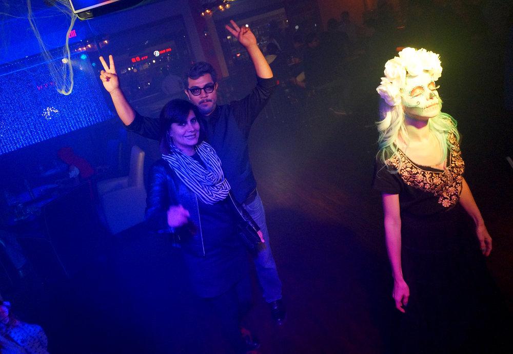 sugar skull dancing