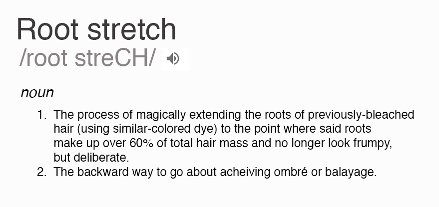 root stretch definition