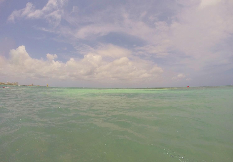 Turquoise water Aruba